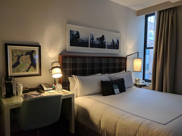 Bed at The Godfrey