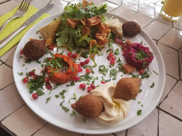 Mezze platter at Naranj