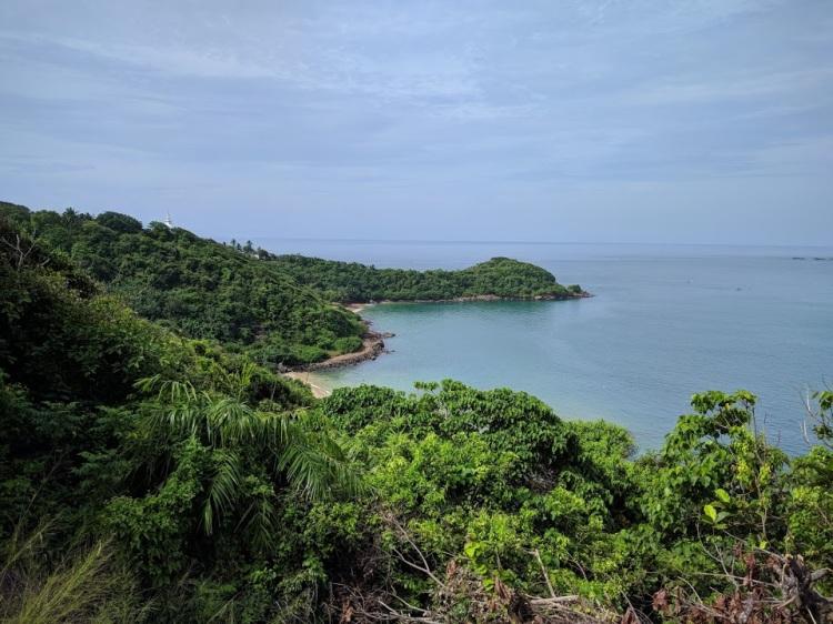 View of Jungle Beach