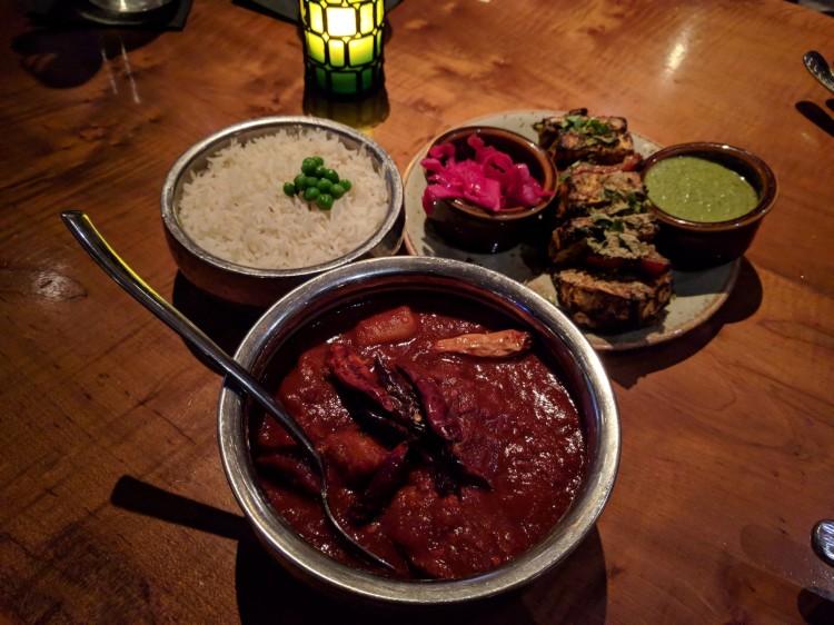 Lamb Vindaloo at Chauhan Ale and Masala House