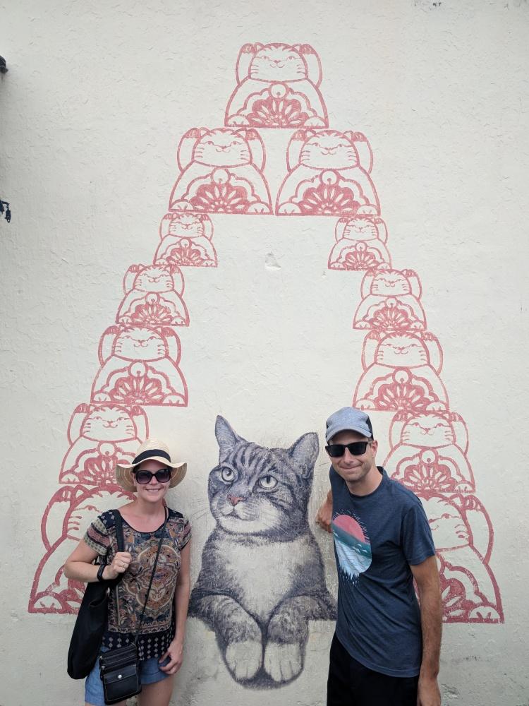 Selfie with Street Art in George Town