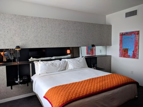 Bedroom at Hotel Saint George in Marfa