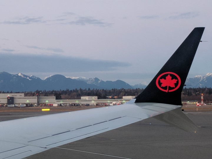 Air Canada Flight at YVR