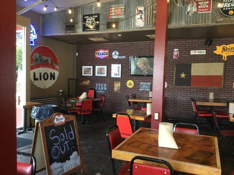 Lockhart BBQ restaurant