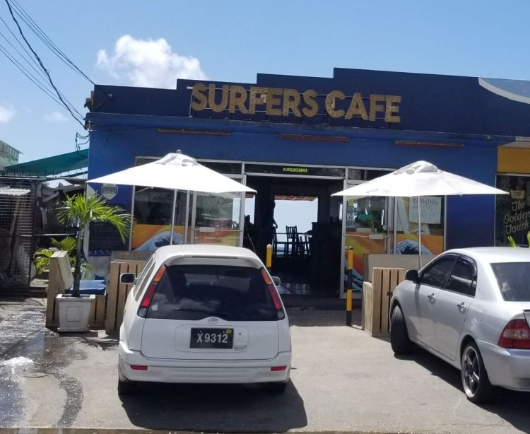 Surfer's Cafe from the street