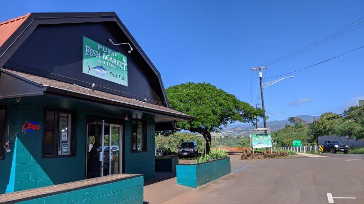 Pueo Fish Market in Kauai