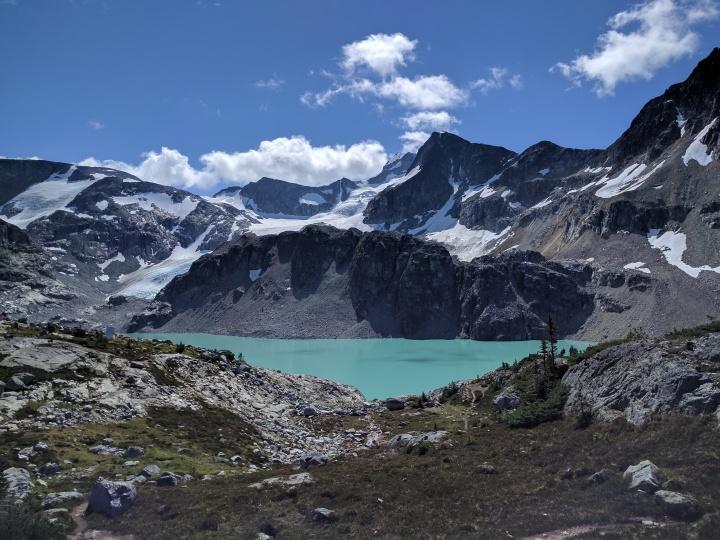 Whistler Canada Hiking Wedgemount Lake