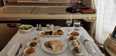 Arabic mezzes for lunch