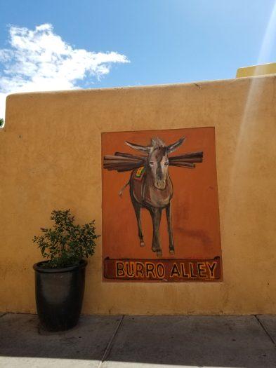 A mural in Santa Fe