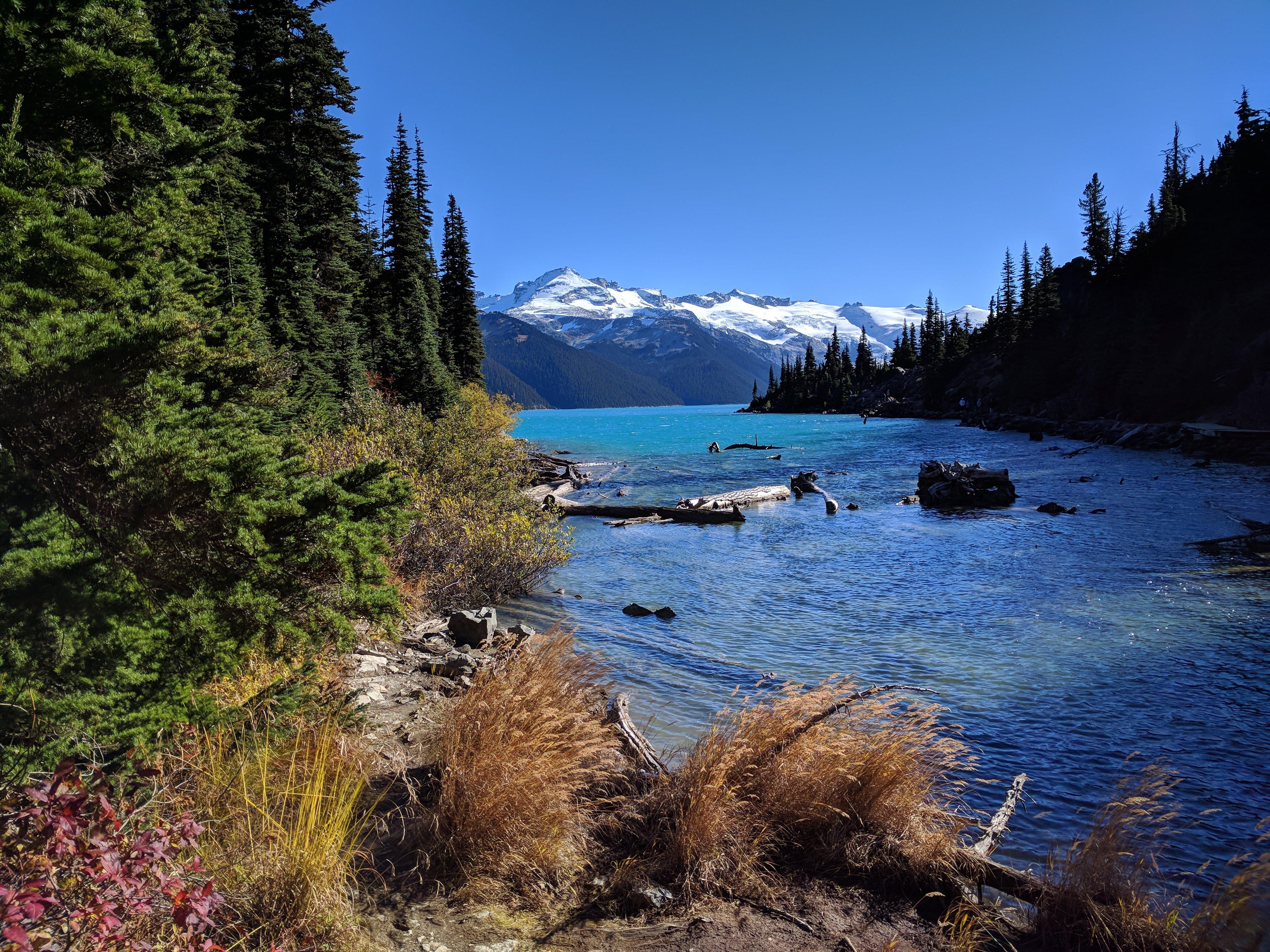 View of Garibaldi Lake