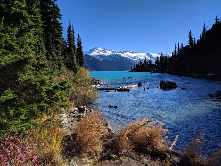 View of Garibaldi Lake