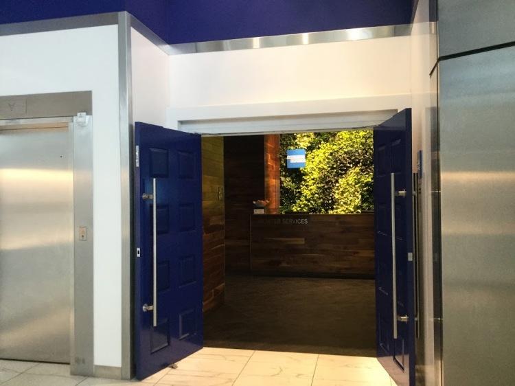 AMEX Centurion Lounge Entrance at DFW