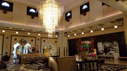 Lobby at the Ritz Carlton Sharq Village
