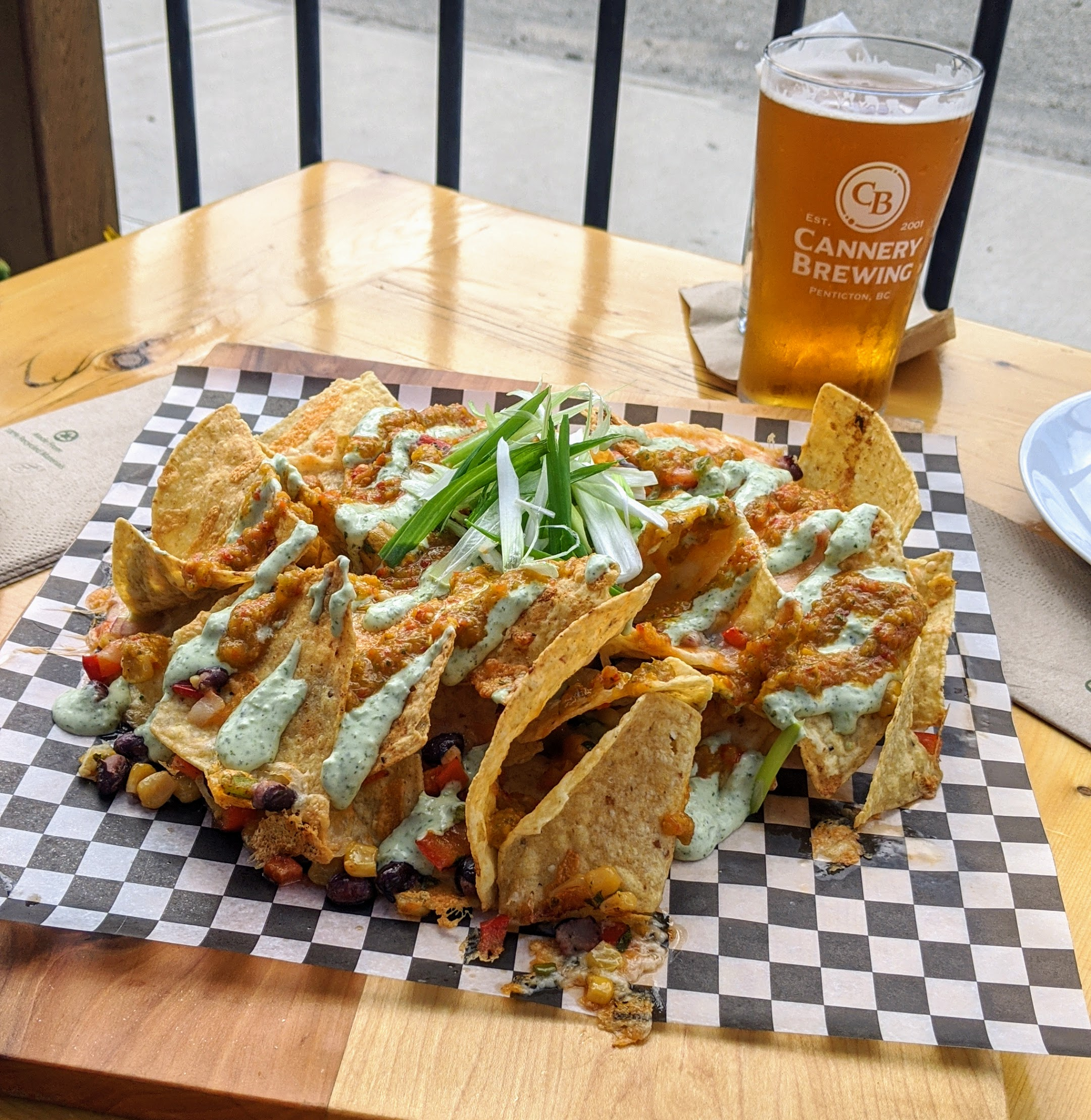 Nachos at Cannery Brewing