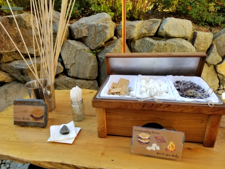 S'mores station