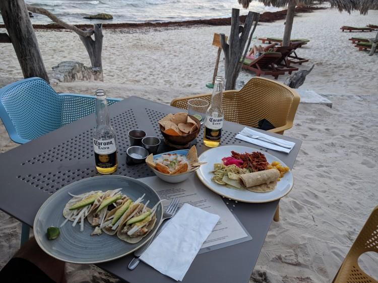 Dinner at Zamas