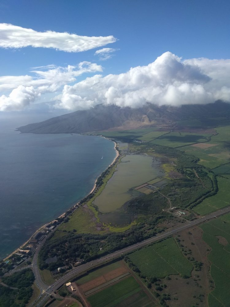 Landing at OGG - Kahului Airport