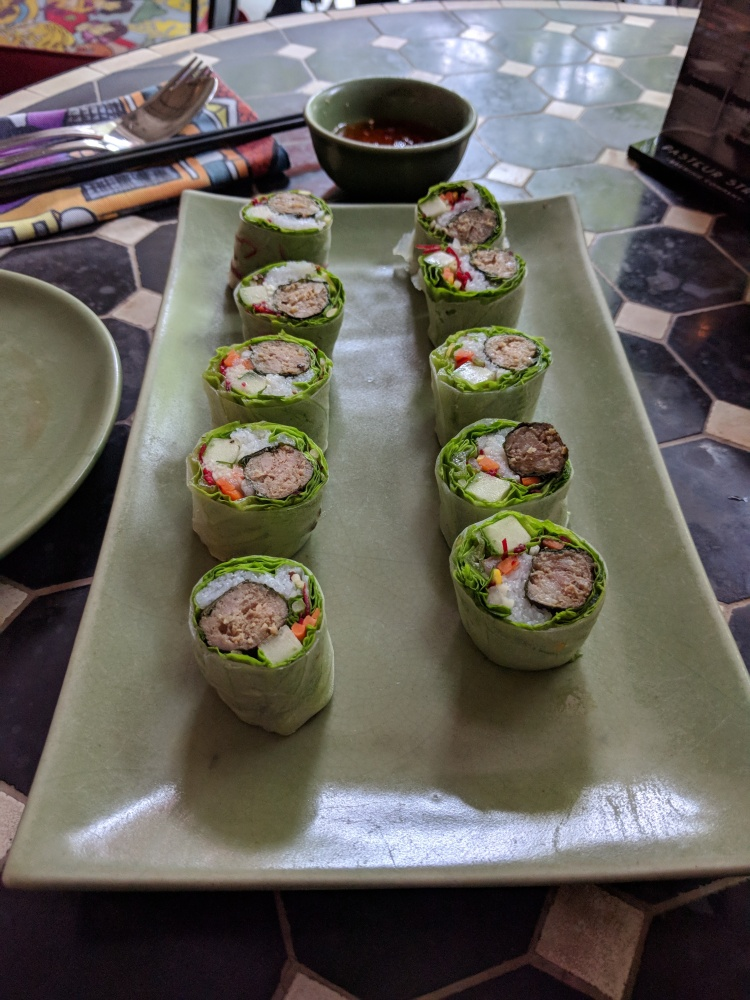 Fresh rolls at Propaganda