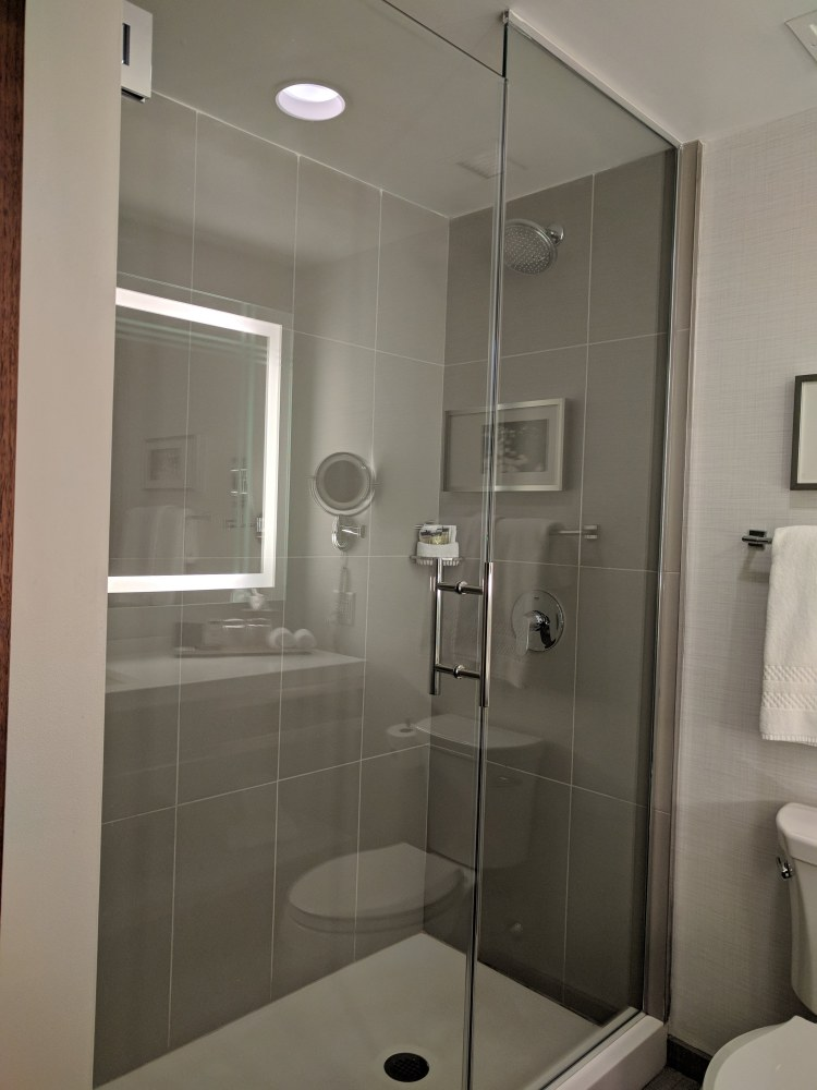 Shower at The Godfrey