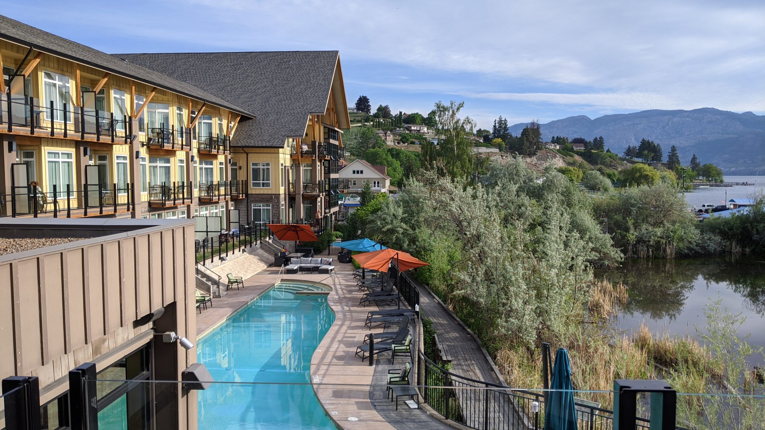 Summerland Resort main pool