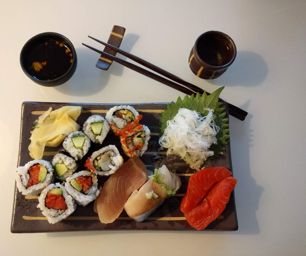 Sushi from Toshi