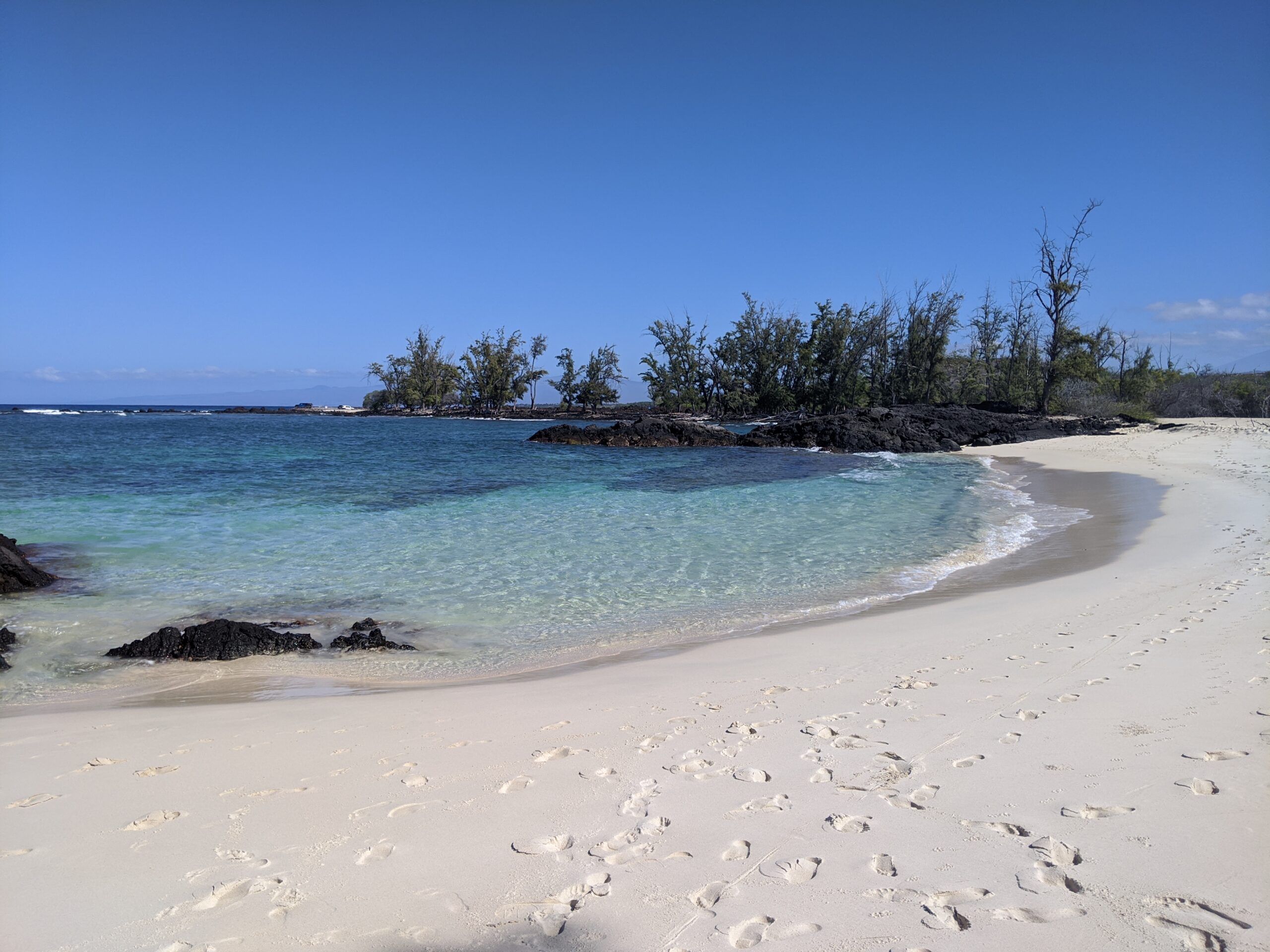 New beach we found on the Big Island of Hawaii for snorkeling