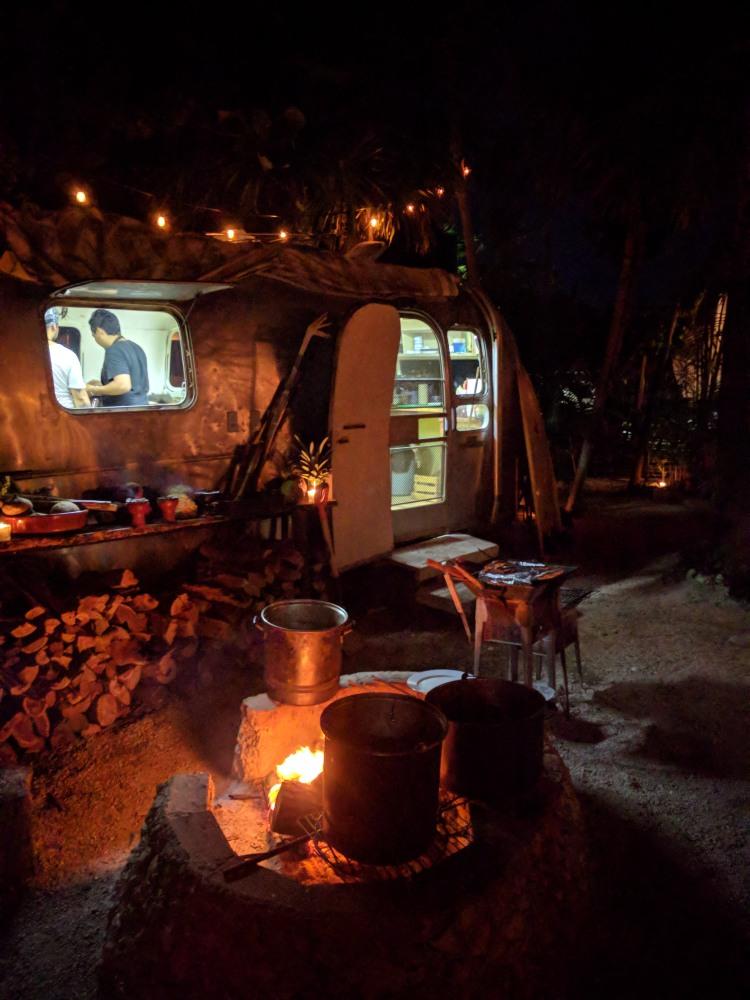 Safari's kitchen