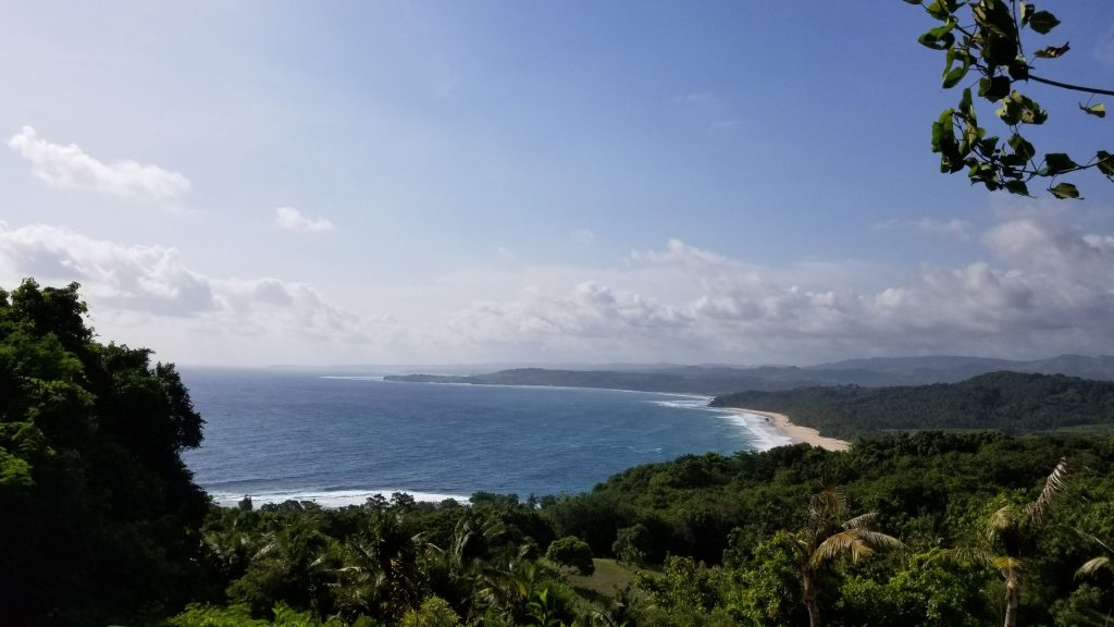View of Nihi Sumba on arrival