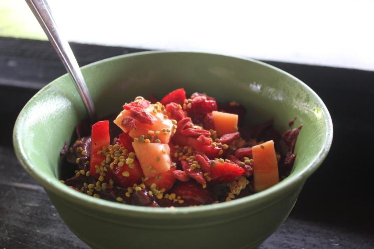 Acai bowl from Basik Cafe