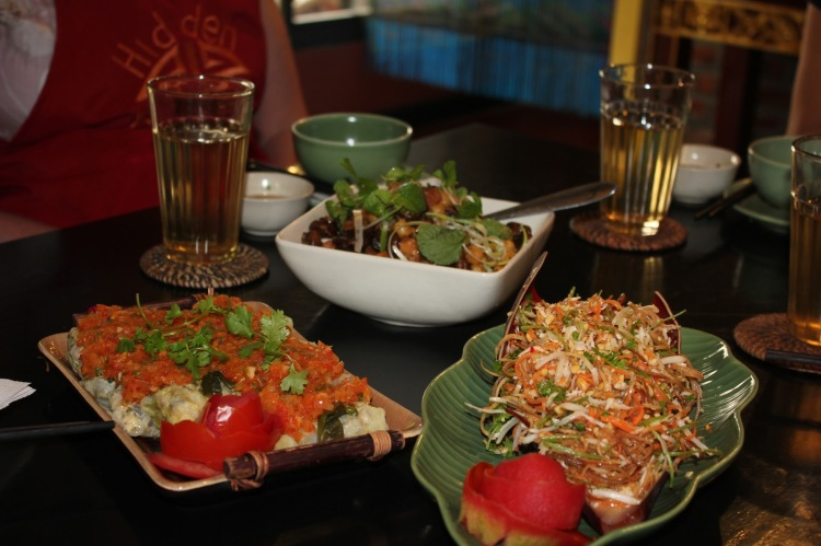 Hidden Hanoi cooking class, what we cooked as part of the Monsoon menu
