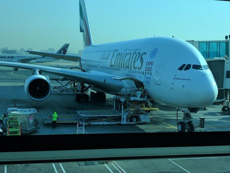 A380 at DXB