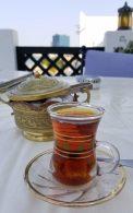 Iranian tea at Parisa 's Sharq Village location