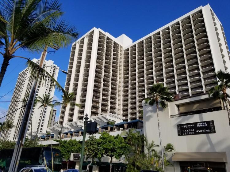 Paoakalani Tower at the Waikiki Marriott Resort & Spa