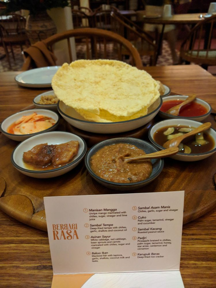Starter and list at Nusantara