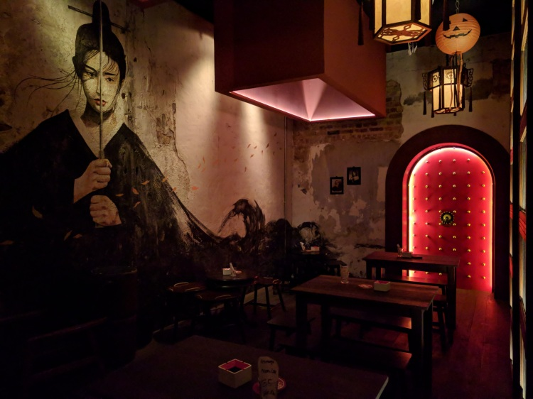 Inside Magazine 63, a secret bar
