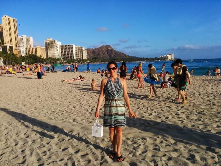 Max on Waikiki Beach