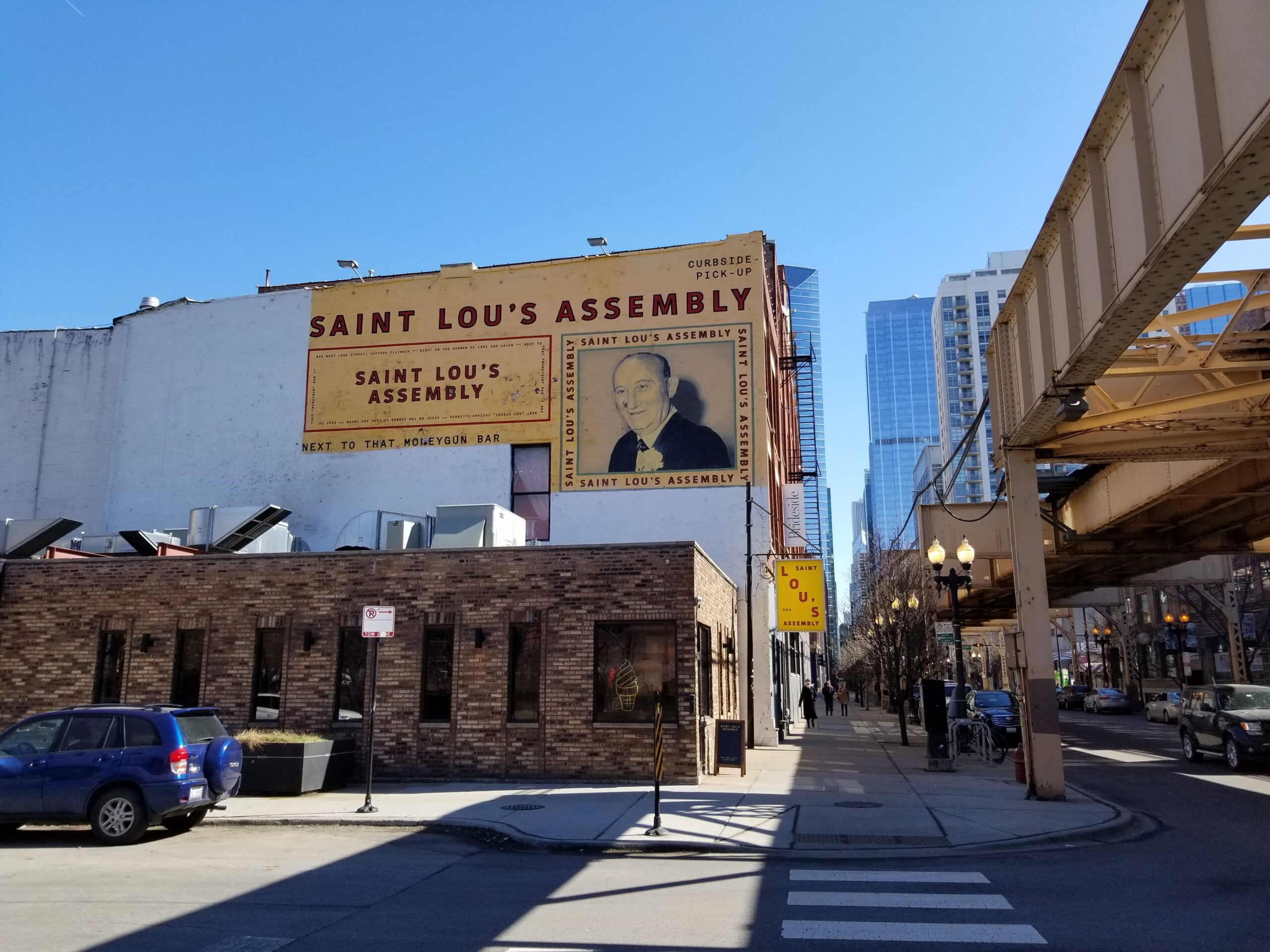 Saint Lou's in downtown Chicago
