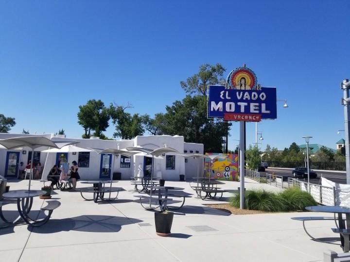 The El Vado Motel in Albuquerque
