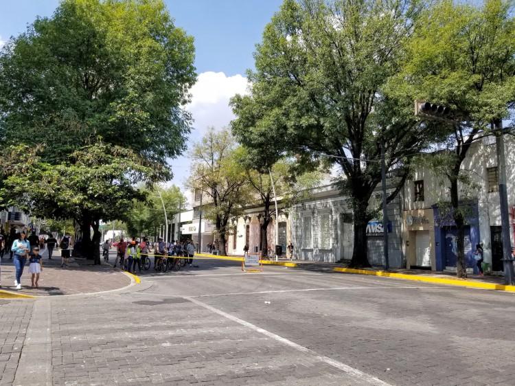 Car free Sunday in Guadaljara