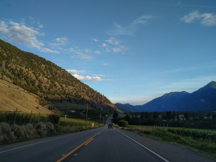 Driving to Keremeos