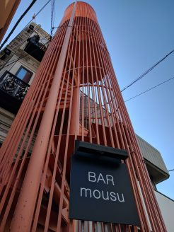 Interesting bar we came across; Bar Mosu