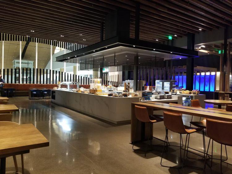 Alaska Lounge N-Gates: Food area