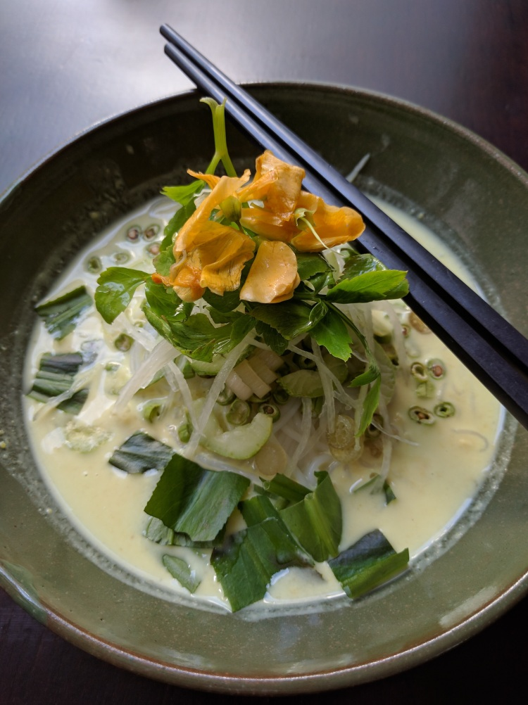 Park Hyatt Siem Reap Khmer fish soup for breakfast