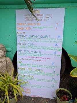 Cafe Turmeric Hanalei Kauai Menu