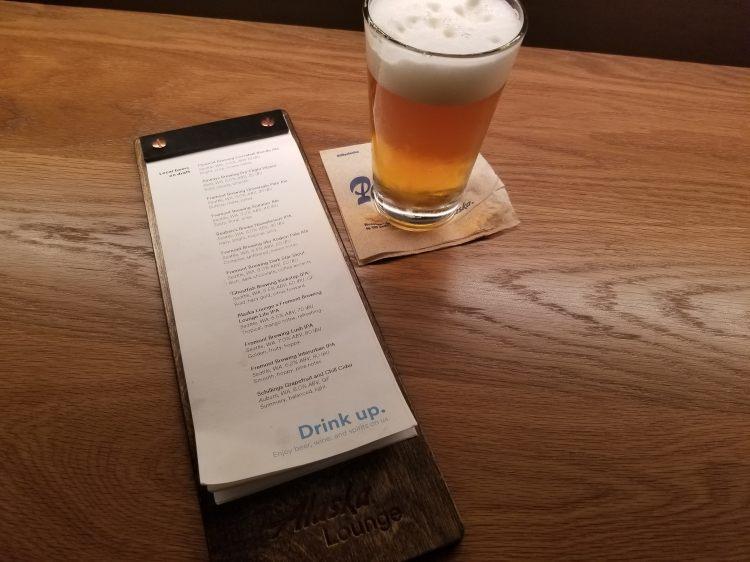 Alaska Lounge N-Gates: Beer list