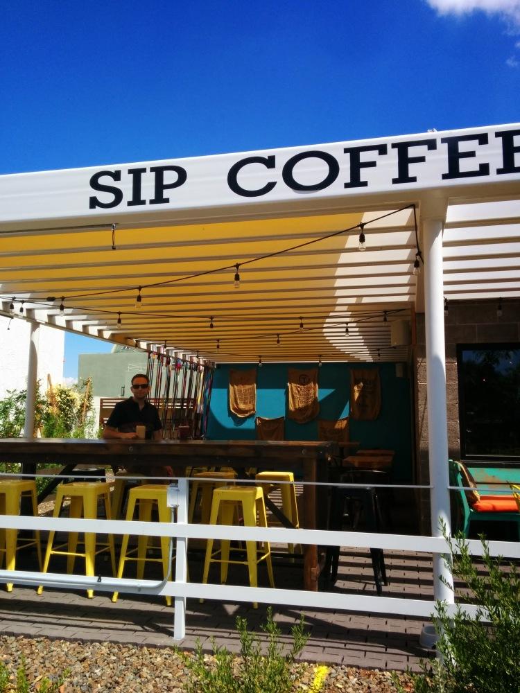 Sip Coffee and Beer Garage