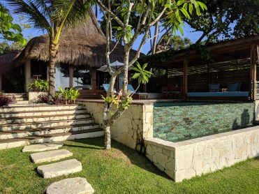 The Marangga Villa we stayed in