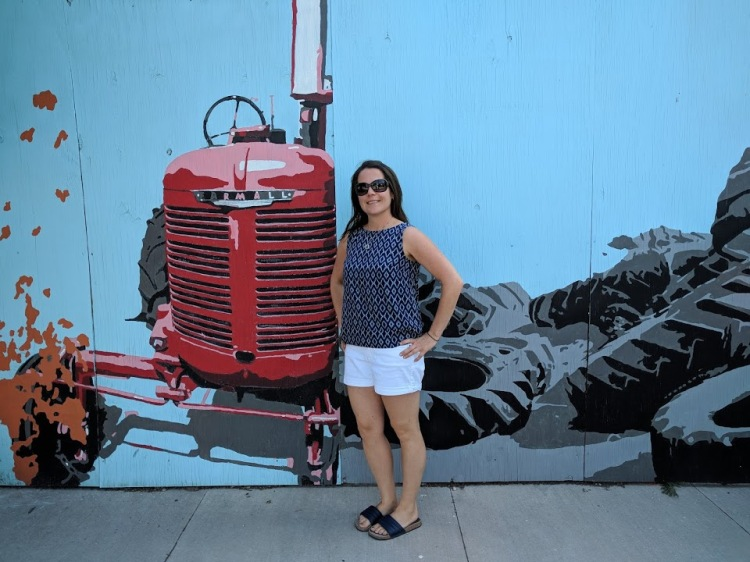 Mural and I
