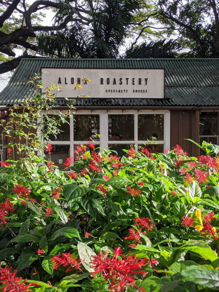 Aloha Roasters in Koloa Kauai