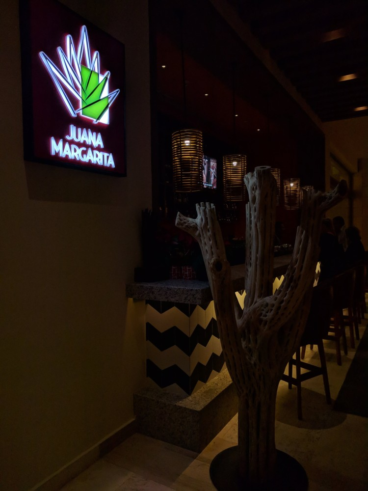 Juana Margarita bar opens at 17:00 and also has a tequila/mezcal tasting at the Hyatt Ziva Cancun